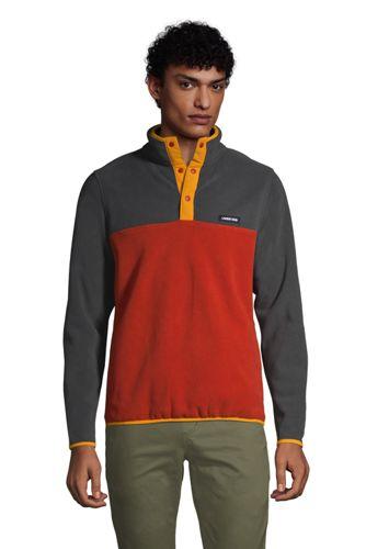 Leichter Fleece-Pullover für große Herren