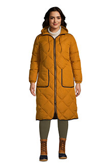 Women's ThermoPlume Quilted Long Coat