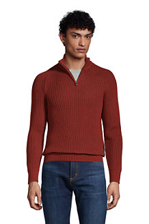 Pullover DRIFTER mit Vorderzipper für Herren