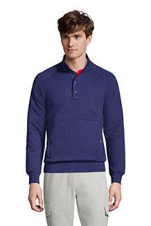 Men's Quilted Sweatshirt
