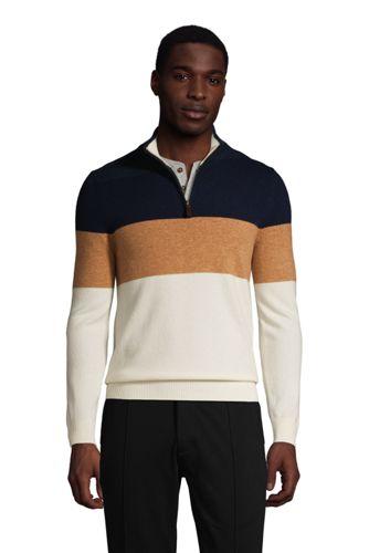 Men's Cashmere Half Zip