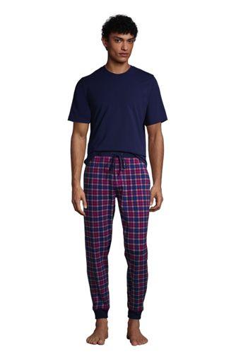 Pyjama 2 Pièces en Jersey de Coton Stretch, Homme Stature Standard