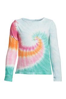 T-Shirt Graphique à Manches Longues, Fille