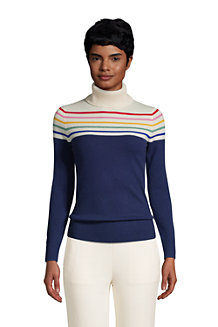 Women's Cashmere Roll Neck Sweater
