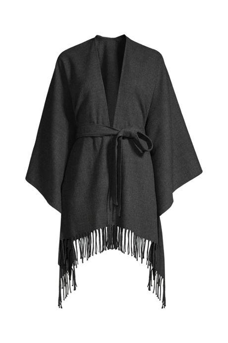 Women's Belted Shawl Wrap