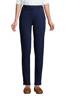 Women's Sport Knit Denim Tapered Trousers