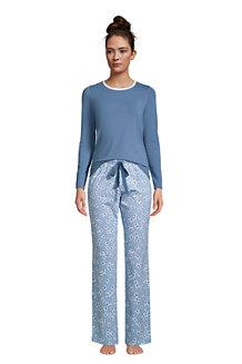 Draper James x Lands' End Jersey Pyjama-Set für Damen