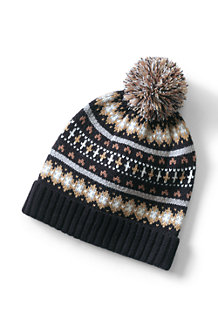 Women's Fair Isle Bobble Hat