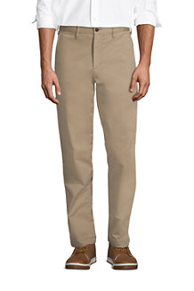Men's Stretch Flannel Lined Chino Trousers