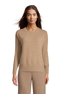 Women's Relaxed Cashmere Crew Neck Jumper
