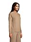 Relaxter Kaschmir-Pullover mit rundem Ausschnitt für Damen