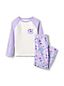 Kids' Long Sleeve Pocket Fleece Pyjama Set