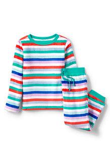 Kids' Long Sleeve Plush Pyjama Set