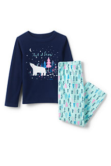 Kids' Long Sleeve Graphic Pyjama Set
