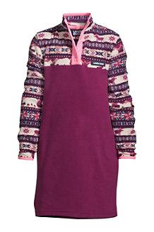 T100 Fleece-Kleid für Mädchen