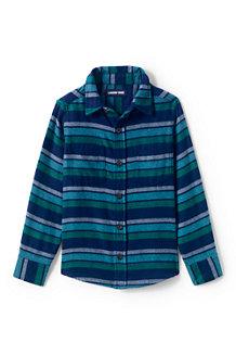 Kids' Long Sleeve Flannel Shirt