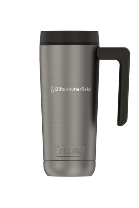 Thermos 18oz Guardian Stainless Steel Insulated Travel Mug