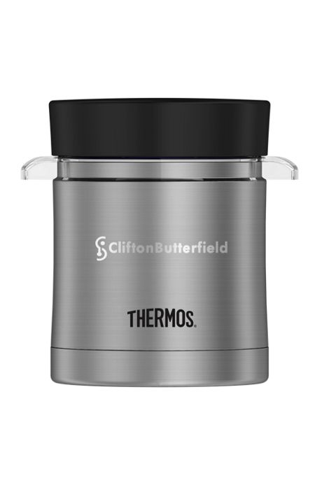 Thermos 12oz Stainless Steel Insulated Food Jar With Microwavable Liner