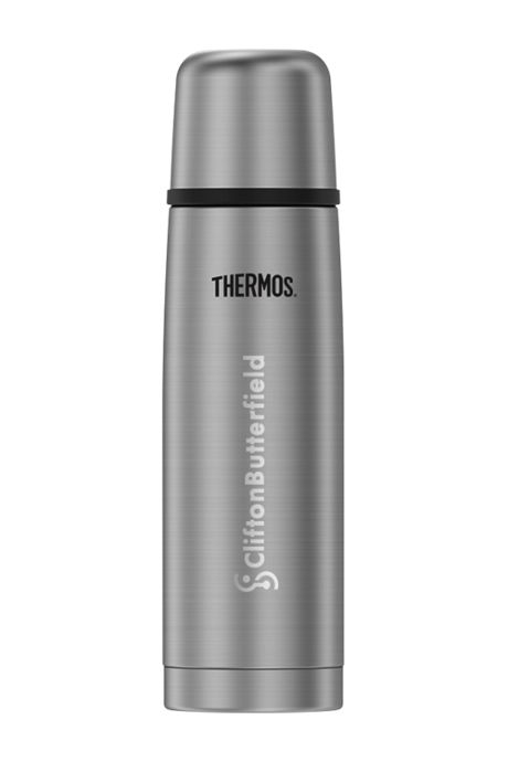 Thermos 16oz Stainless Steel Insulated Travel Beverage Bottle