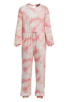 Girls' Long Sleeve Cosy Jumpsuit