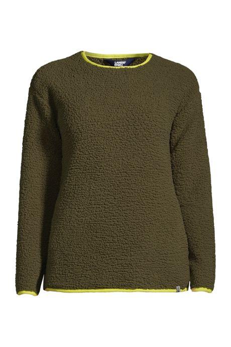 Women's Long Sleeve Sherpa Sweatshirt