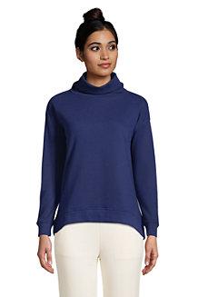 Women's Serious Sweats Cowl Neck Sweatshirt