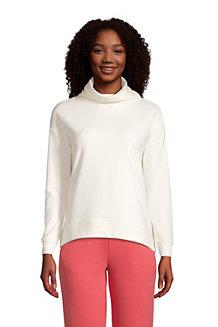 Sweatshirt mit weitem Kragen SERIOUS SWEATS für Damen