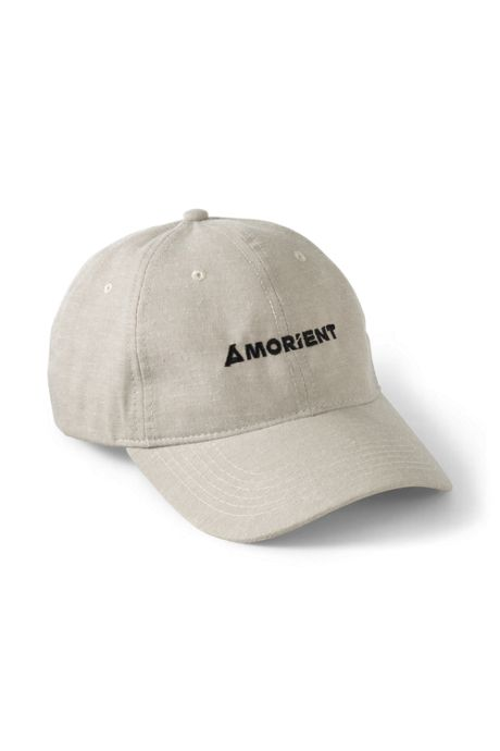 Low Profile Custom Embroidered Cotton Chambray Baseball Cap