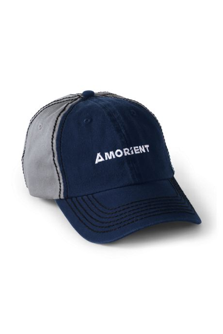 Color Block Custom Embroidered Cotton Twill Baseball Cap