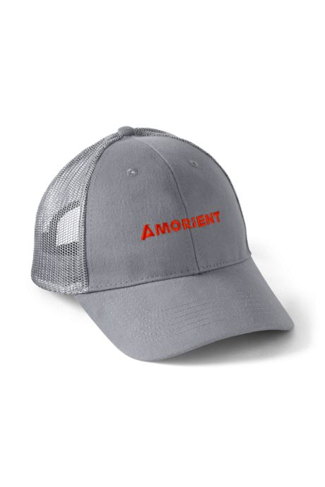 Brushed Cotton Twill Custom Logo Trucker Hat