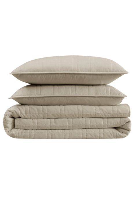 Cannon Heritage Solid Quilt Set