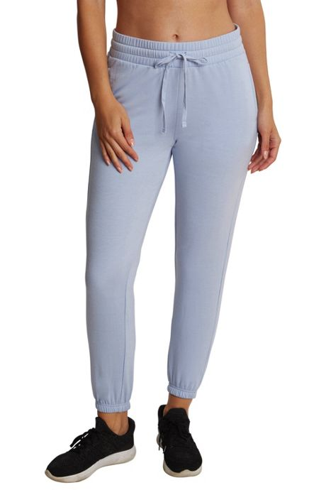 Danskin Women's Ribbed Side Panel Jogger Pants