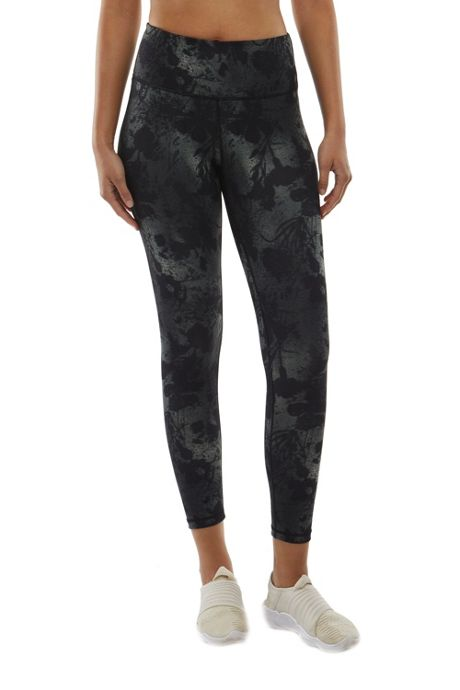 Danskin Women's Spray Floral 7/8 Leggings