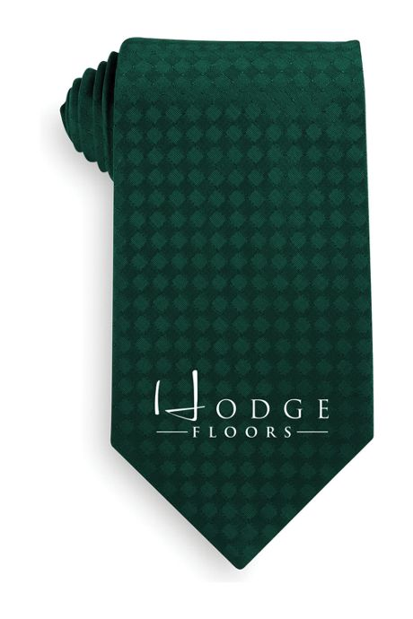 Unisex Custom Logo Tone on Tone Tie