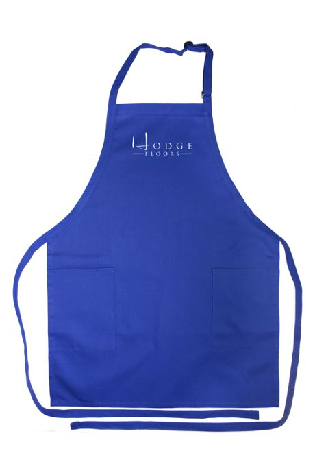Unisex Custom Logo Twill Blend Adjustable Bib Apron with Pockets