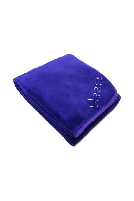 Coral Fleece Custom Embroidered Throw Blanket