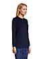 Jacquard-Sweatshirt SPORT KNIT Indigo für Damen