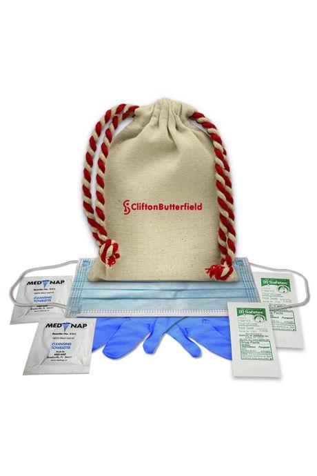Custom Canvas Bag Essential Safety Kit