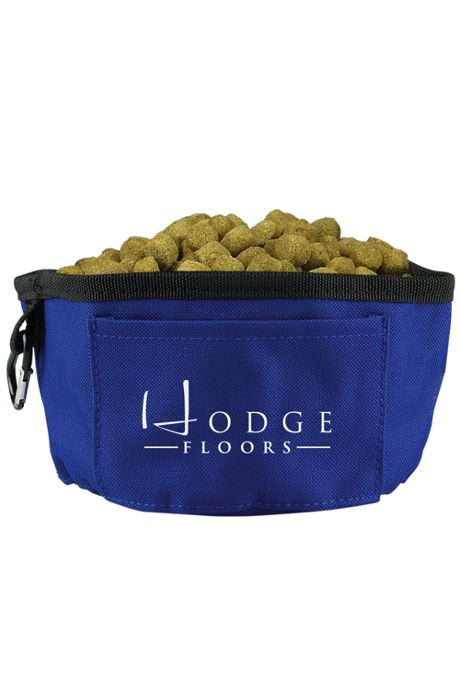 Custom Logo Collapsible Travel Dog Bowl