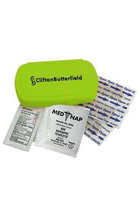 Compact Custom Logo First Aid Kit