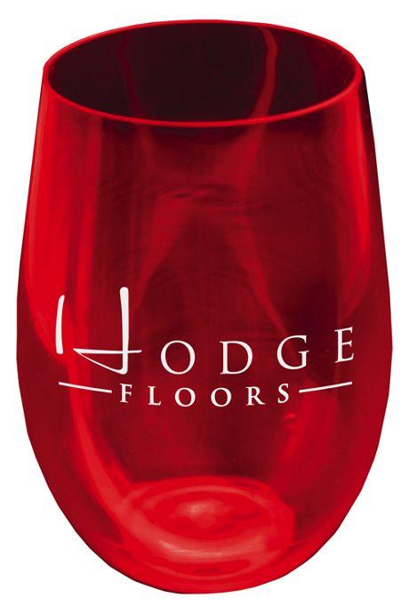Vino Upcycled Plastic 16oz Stemless Wine Glass