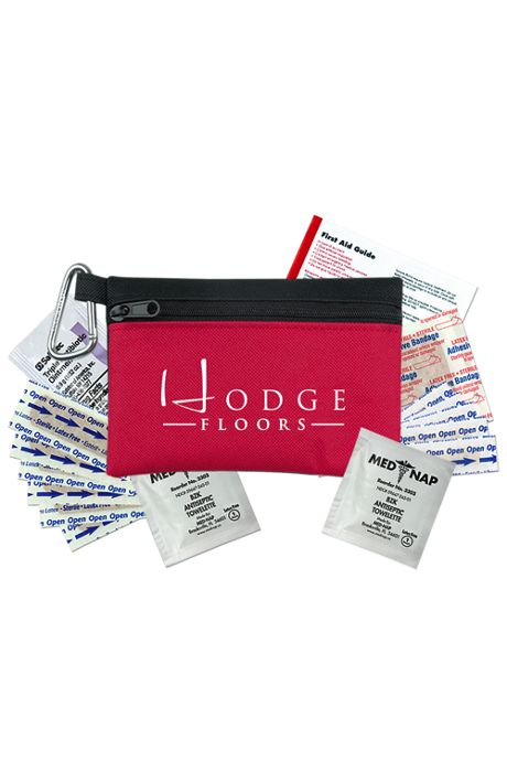Zip Pouch Custom First Aid Primary Care Kit
