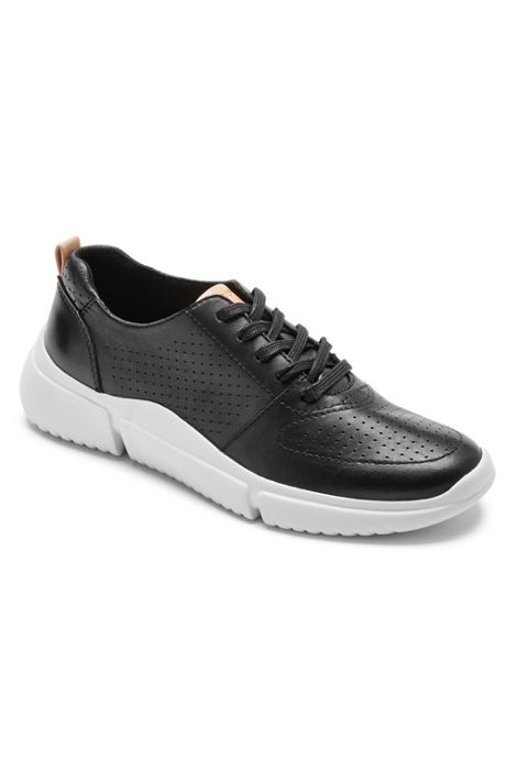 Rockport Women's Wide Width R-Evolution Washable Perforated Sneakers
