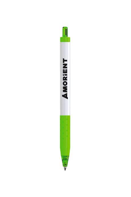 Paper Mate Inkjoy White Barrel Custom Ballpoint Pen - Black Ink
