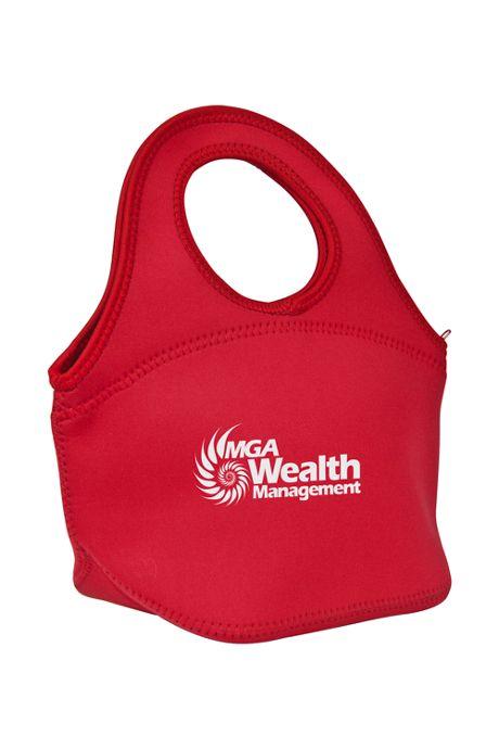 Easy Carry Custom Logo Neoprene Insulated Lunch Bag