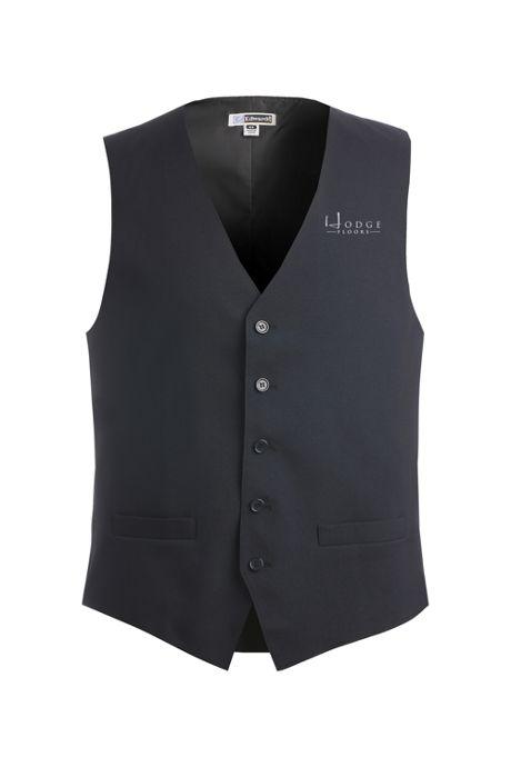 Edwards Garment Men's Regular Custom Logo Essential Vest