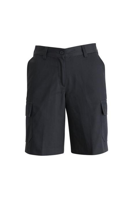 Edwards Garment Women's Plus Size Uniform Utility Chino Cargo Shorts
