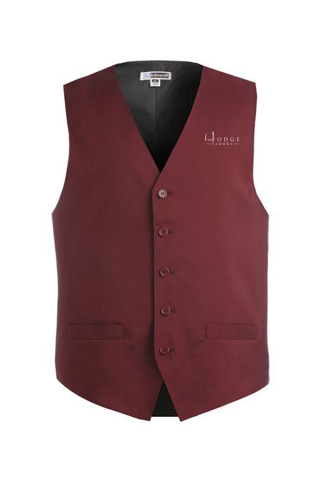 Edwards Garment Men's Big Custom Logo Essential Vest
