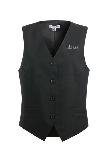 Edwards Garment Women's Plus Size Custom Logo Essential Vest