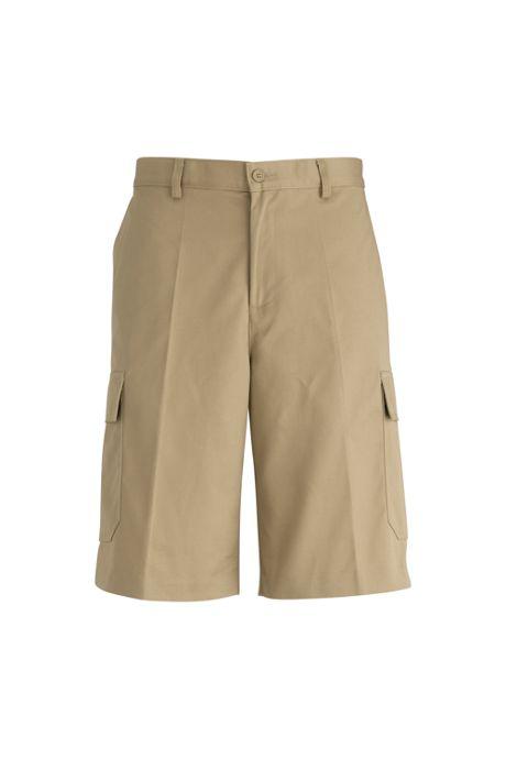 Edwards Garment Men's Big Uniform Utility Chino Cargo Shorts